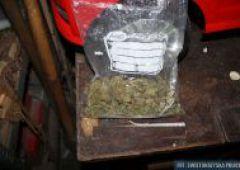 Narkotyki w garażu