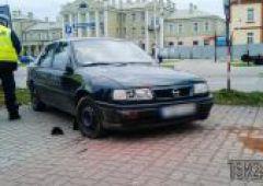 Wypadek na skrzyżowaniu Niepodległości i Sokolej