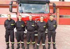 Medyczna pomoc udzielona przez strażaków