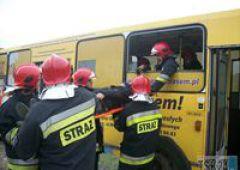 Wypadek autobusu podczas wycieczki
