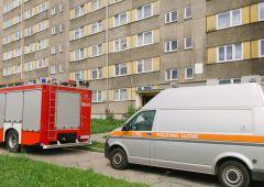 Podejrzenie wycieku gazu przy Mickiewicza 16