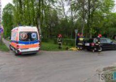 Zderzenie 3 samochodów na Niepodległości