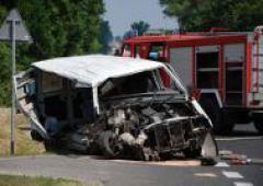 Groźny wypadek na E7