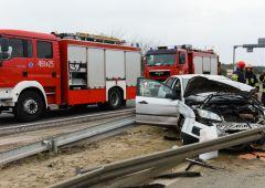 Wypadek na Jana Pawła II - jedna osoba w szpitalu (uzup.)