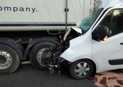 Wypadek na trasie S7