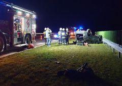 Dwa wypadki w miniony weekend w powiecie skarżyskim