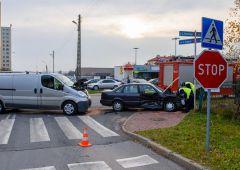 Kolejne zdarzenie drogowe na skrzyżowaniu Grottgera i Konarskiego
