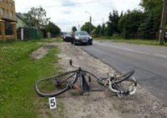 Potrącenie rowerzysty