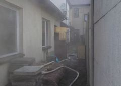 Pożar w budynku mieszkalnym przy ulicy 3 Maja