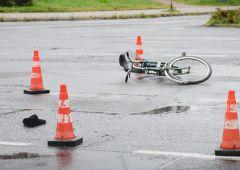 Groźne potrącenie rowerzysty (uzup.)