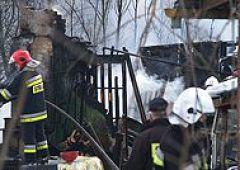 Groźny pożar w Suchedniowie