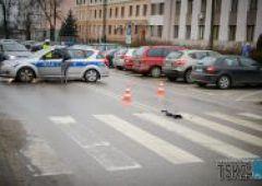 Potrącenie pieszego na ulicy Krasińskiego (uzup.)