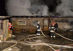 Pożar w miejscowości Bugaj