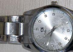 Na ręku miał kradziony zegarek