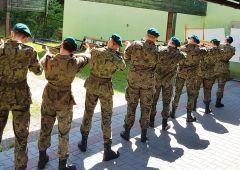 Turniej strzelecki  i zajęcia strzeleckie innowacji wojskowej  Zespołu Szkół Transportowo – Mechatronicznych