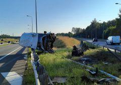 Groźny wypadek na S7 w Suchedniowie