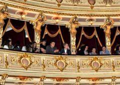 Uczniowie I L.O w teatrze Juliusza Słowackiego w Krakowie
