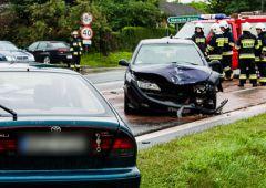 Groźny wypadek na krajowej siódemce