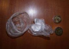 Kontrola drogowa z narkotykami w tle