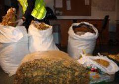 Policjanci przejęli nielegalne wyroby tytoniowe