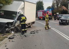 Wypadek w Suchedniowie na ulicy Berezów