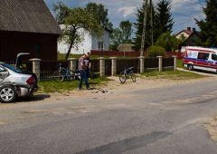 Groźny wypadek w miejscowości Jagodne - 6 osób w szpitalu w tym 10 letnie dziecko