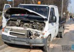 Wypadek na skrzyżowaniu ulic Spornej i Niepodległości