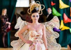 W ZSSU odbył się konkurs fryzjerski inspirowany motylami