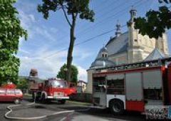 Pożar w Skarżysku Kościelnym