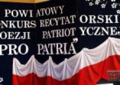"""VI Powiatowy Konkurs Recytatorski Poezji Patriotycznej """"Pro Patria"""""""