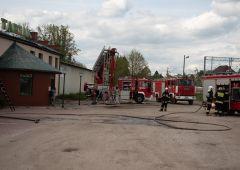 Pożar tartaku w Suchedniowie