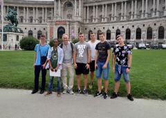 Uczniowie ZSTM na zagranicznych praktykach w Budapeszcie, Wiedniu i Mediolanie