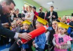 Pasowanie na przedszkolaka w przedszkolu Baby World