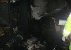 Jedna osoba zginęła w pożarze