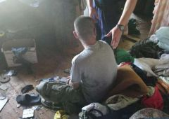 Dzielnicowi uratowali desperata