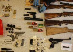 Broń i blisko 750 sztuk amunicji bez zezwolenia