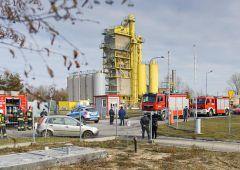 Wyciek amoniaku na terenie ciepłowni przy ul. 11 Listopada