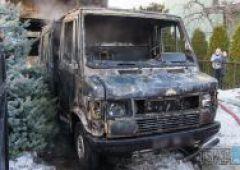 Pożar samochodu na ulicy Torowej