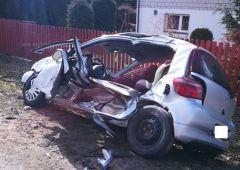 Wypadek drogowy w Kierzu Niedźwiedzim
