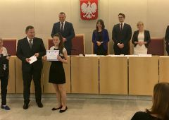 Konkurs Akademia-Konkurs Wiedzy o Prawie - sukces uczniów SP Nr 2