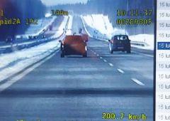 200 km/h kielecką obwodnicą