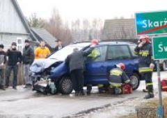 Wypadek w miejscowości Świerczek
