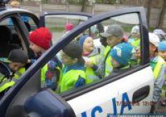 Zwiedzili komisariat policji w Suchedniowie