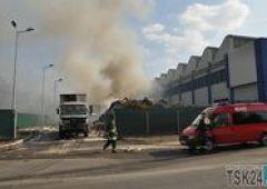 Groźny pożar w Almaxie (uzupełnione)