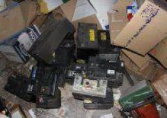 Sprawcy kradzieży akumulatorów w rękach policji