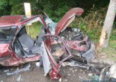 Wypadek - błędy popełniane zza kierownicy