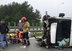 Groźny wypadek na trasie S7