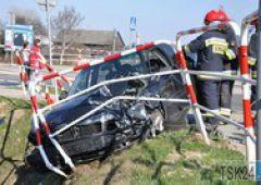 Pechowe skrzyżowanie -  kolejne zdarzenie drogowe