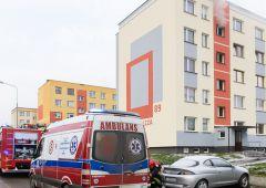 Pożar mieszkania przy Spółdzielczej 89 - 3 osoby poszkodowane