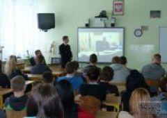 Przedstawiciele Szkoły Głównej Służby Pożarniczej z Warszawy z wizytą w III L O